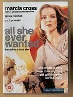 All She Ever Wanted DVD True Life Pregnancy Drama TV Film Movie Marcia w/ Cross