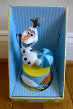 Disney Musical Revolving Figurine Olaf from Frozen New in Box