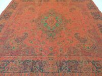 Persian Woven Fine Art Silk Termeh Tapestry Rug Design Tablecloth Wall Hanging