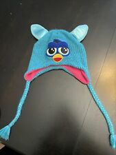 2013 Blue Furby Knit Beanie Hat