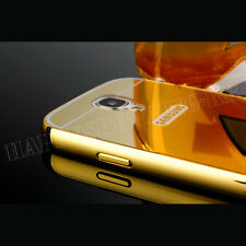 NEW Luxury Aluminum Ultra-thin Mirror Metal Case Cover For Samsung Galaxy Phones
