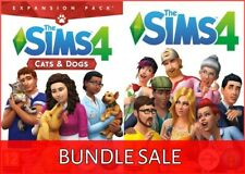 The Sims 4 + Cats & Dogs Expansion DLC Bundle Region Free (PC/Mac) - Game