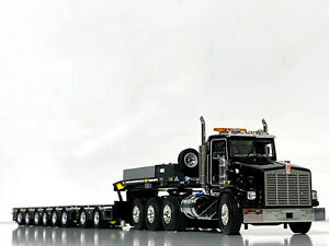 Kenworth T800 8x4,low loader 8 axle trailer WSI truck models