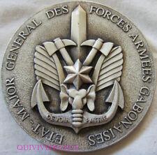 MED8915 - MEDAILLE ETAT MAJOR GENERAL DES FORCES ARMEES GABONAISES