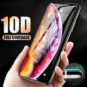 10D Curved Genuine Tempered Glass Screen Protector  iPhone XR,XS,XS Max 6Plus