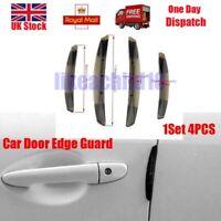 4X Auto Accessories Door Edge Guard Strip Bar Scratch Rubber Anti rub Protector