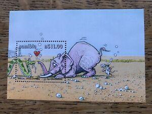 Namibia 2000 YOKA The Snake, Minisheet MNH
