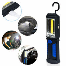 New Rechargeable COB+LED Hand Torch Lamp Magnetic Inspection Work Light Flexible