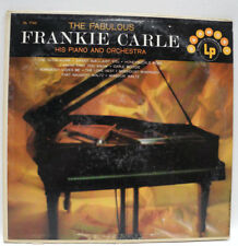 Frankie Carle (his Piano & Orchestra)- The Fabulous -Vinyl LP Release-Graded VG+
