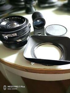 vintage Mamiya press /23 wide angle Mamiya sekor 1.6.3 50mm lens+viewer+hood.