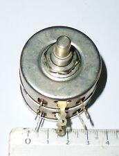 Potentiomètre double bobiné 2x150 ohms 2x4 watts NOS NIB CTS 2Z7184.44