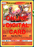 1X Volcanion 25/214 Unbroken Bonds Pokemon TCG Online Digital Card