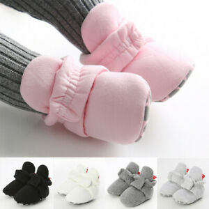 Baby Girl Boys Winter Warm Booties Newborn Toddler First Walkers Kid Boots Shoes