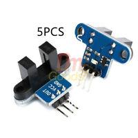 5PCS Optical Speed Measuring Test Optocoupler Sensor IR Infrared Slotted Module