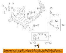 GM OEM Front Suspension-Front Lower Cntl Arm Bolt 92139183