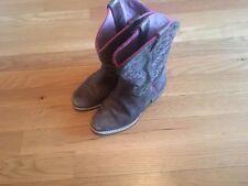Toddler Girls Leopard Ariat Cowboy Boots - Size 12