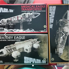 AOSHIMA Space 1999-Medical, Laboratory & Freighter Eagle