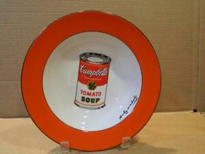 """Andy Warhol Campbell Soup 9 """" Soup Bowl by Block Discontinued (D)"""