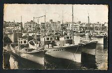 Posted 1962: View of Fishing Boats & Harbour , Saint-Jean-de-Luz