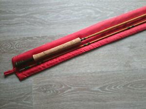 Pezon et Michel bamboo fly rod PPP Ritz type Fario Club 8'5 - New