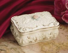 """Lenox Promised Love Music Box Plays """"Love Story"""" - Beautiful Gift Mother's Day"""