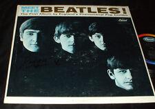 MEET THE BEATLES LP 1st PRESS 1964 MONO T-2047 NICE