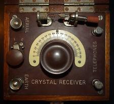 Bijou Crystal Radio made by British Thompson Houston