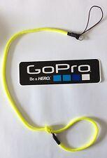 CABLE de SÉCURITÉ cordon textile 50 cm pour GoPro 2 3 3+ 4 Safety Lanyard Tether
