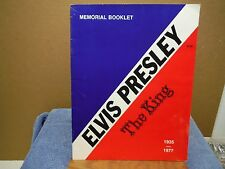 Elvis Presley The King Memorial Booklet 21 Pages