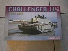 MAQUETTE CHAR BRITISH CHALLENGER II (IRAK 2003) DRAGON No.7228 - 1/72 - 1.72eme