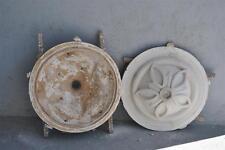 Moule ancien d'atelier de plâtrier staffeur - rosace ronde style oriental