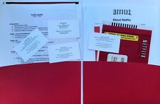 Netflix 2004 complete press kit, including Reed Hastings business card. Rarity!