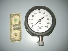"""5"""" Pressure Gauge 0-1000 Psi 316 Tube & Socket 3/4"""" Npt"""