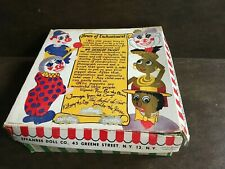 Jambo The Jiver Effanbee Doll Co Talentoy 1948 Vintage Marionette/Puppet