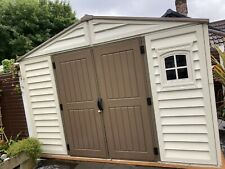 10.5 Ft X 8ft plastic shed used