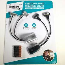 UltraBrite 8-LED Dual-Head Reading Light
