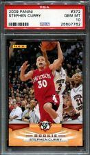 2009 Panini Stephen Curry #372 Rookie RC PSA 10