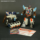 LANDQUAKE Transformers Energon Command Class complete + instructions + card 2004