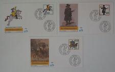 (f801) Bund Schmuck FDC Michel Nr. 1407 30-1439 Wohlfahrt 1989 Postbeförderung