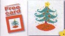 "DMC Mini Card Cross Stitch Kit ""Christmas Tree"""