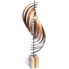 Modern Wood Sculpture Natural Wood Elegant Home Decor Contemporary Wooden Art