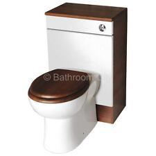 CG bagno 500mm PASHA bianco noce BTW unità water con sedile e vaschetta WC
