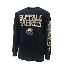 Buffalo Sabres Official Nhl Apparel Kids Youth Size Long Sleeve Shirt New Tags