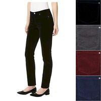 Buffalo Womens Stretch Skinny Mid-Rise Corduroy Pants Choose Size & Color