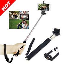 Extendable Handheld Stick Selfie Camera Portable Unipod For iPhone 7 6 6S Plus