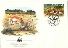 (72288) FDC-Sénégal-Antilope - 1986