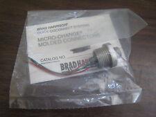 """Nuevo Woodhead Brad Harrison 7r3004a19a030 3p 3 """"Micro Cambio Conector moldeado"""