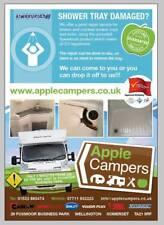 SPEEDCOAT, shower tray and bathroom sink repairs, Caravan/motorhome/camper van