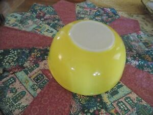 Yellow Pyrex Mixing, Nesting Bowl # 404