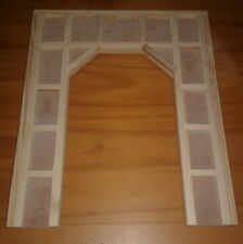 Wood Tunnel Portal G Scale Natural